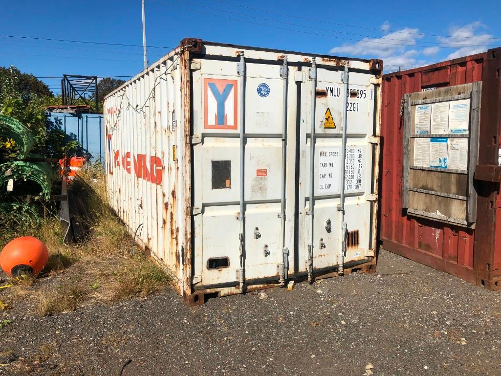 20FT. CONEX CONTAINER With Rigid Foam Insulation And