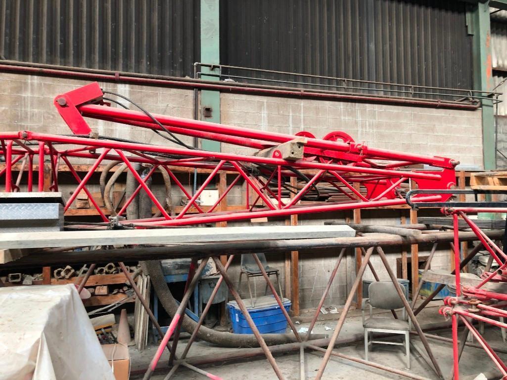 60FT. JIB CRANE ACCESSORY Fits LB HC-238B Crane.