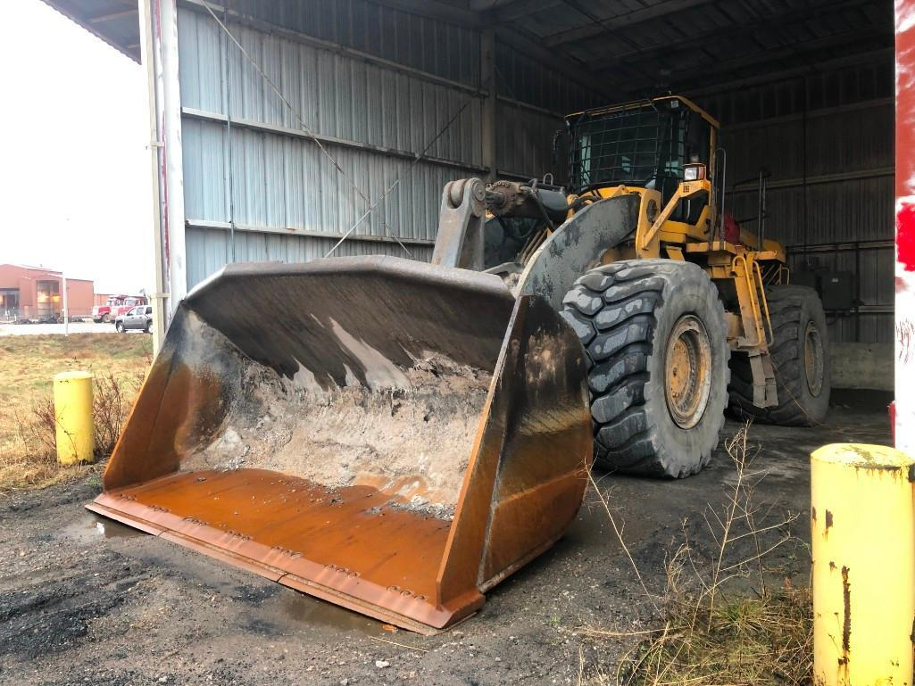 2008 VOLVO L350F RUBBER TIRED LOADER SN:1151 Powered
