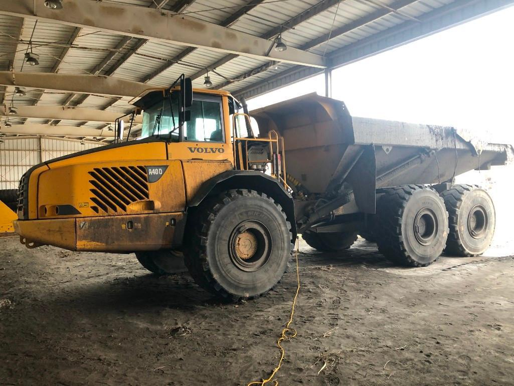 VOLVO A40D ARTICULATED HAUL TRUCK 6x6 Powered By Volvo