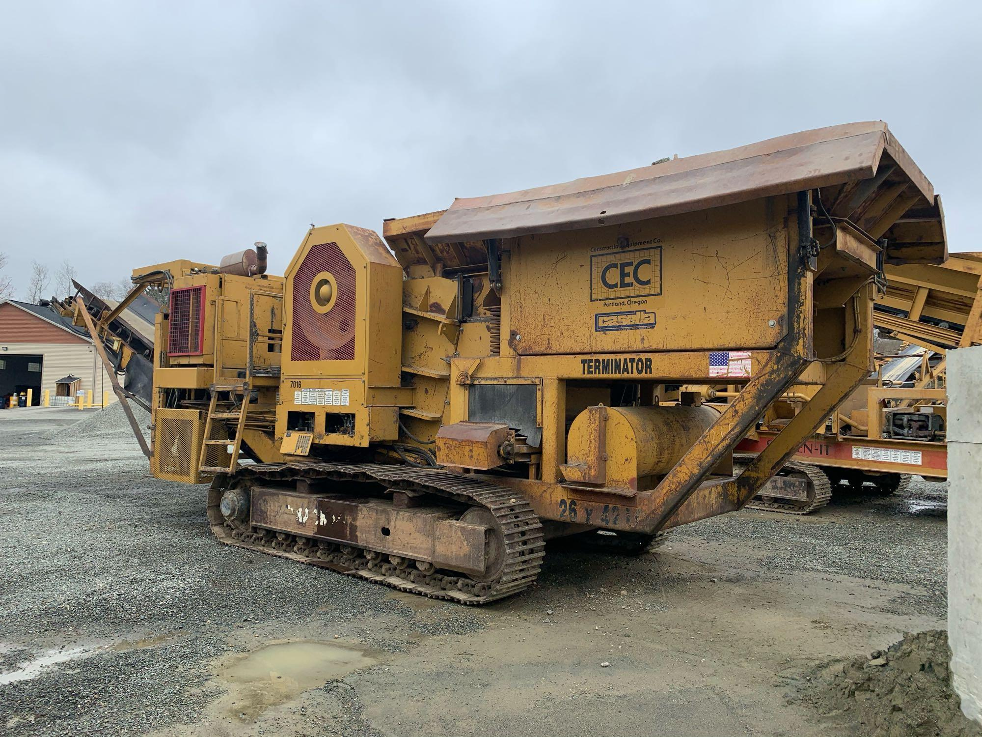 CEC 26X42LC JAW CRUSHING PLANT AGGREGATE EQUIPMENT