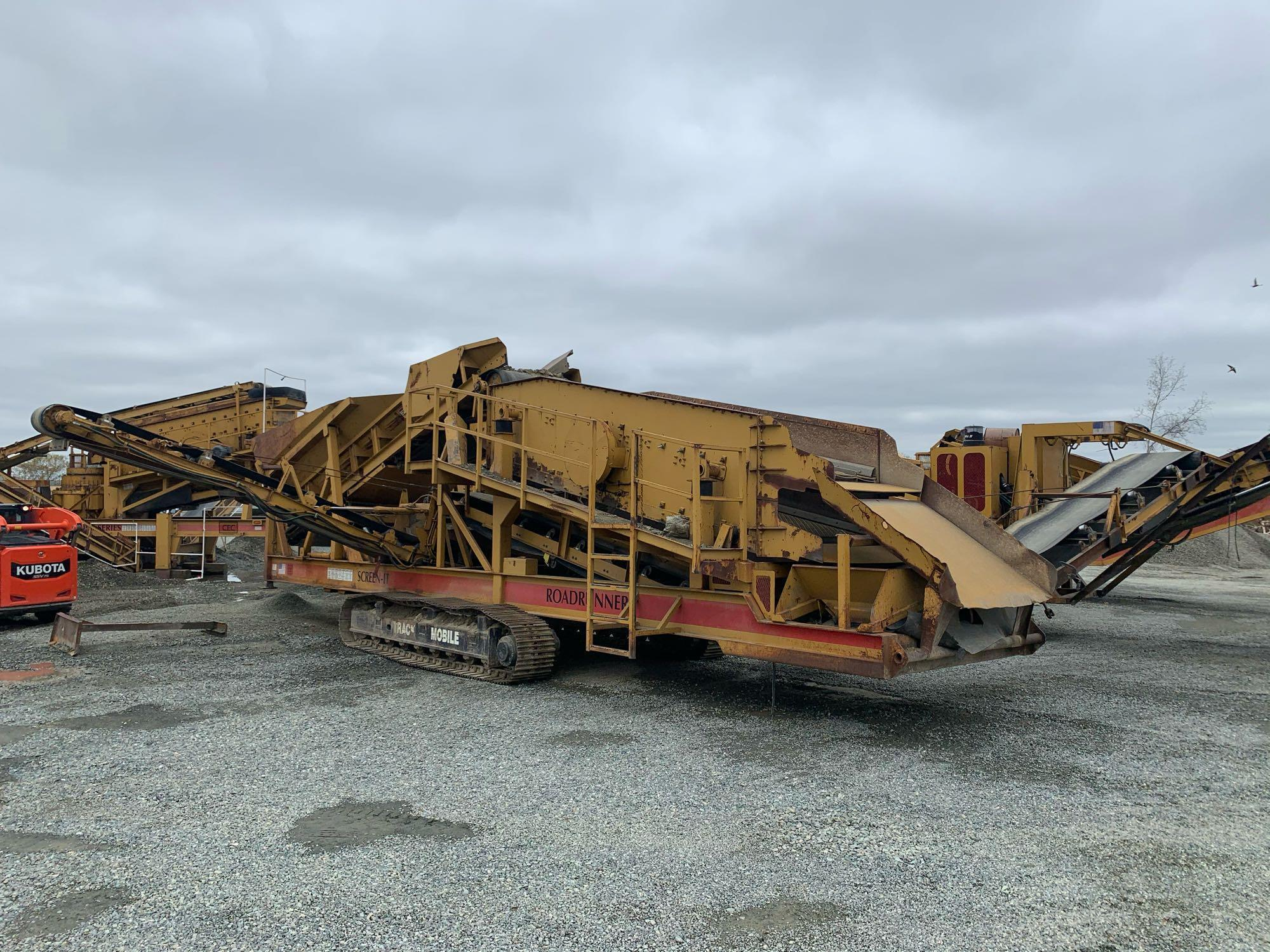 2005 CEC 6FT. X 16FT. SCREENING PLANT AGGREGATE