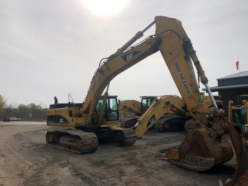 CAT 345CL HYDRAULIC EXCAVATOR SN:PJW00768 Powered By