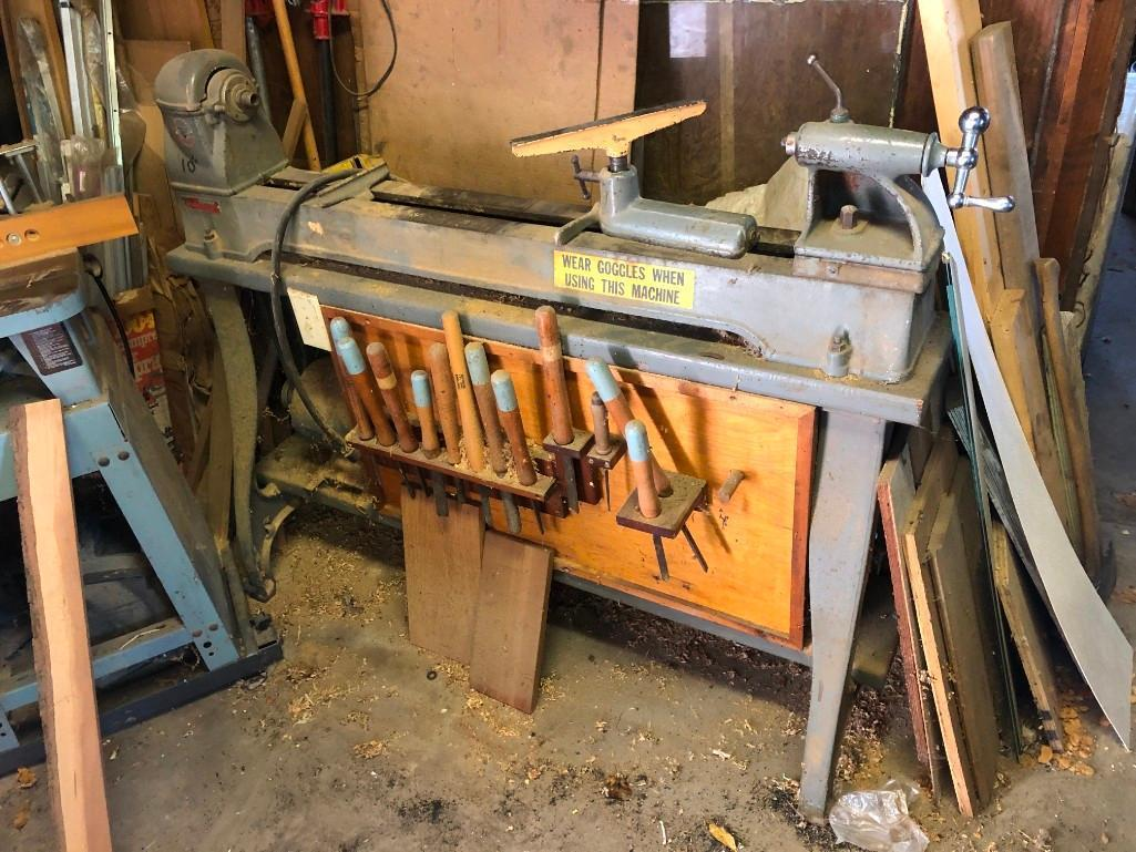 DELTA ROCKWELL WOOD LATHE SUPPORT EQUIPMENT