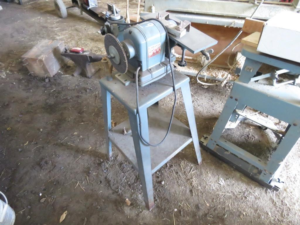 DELCO GRINDER SUPPORT EQUIPMENT