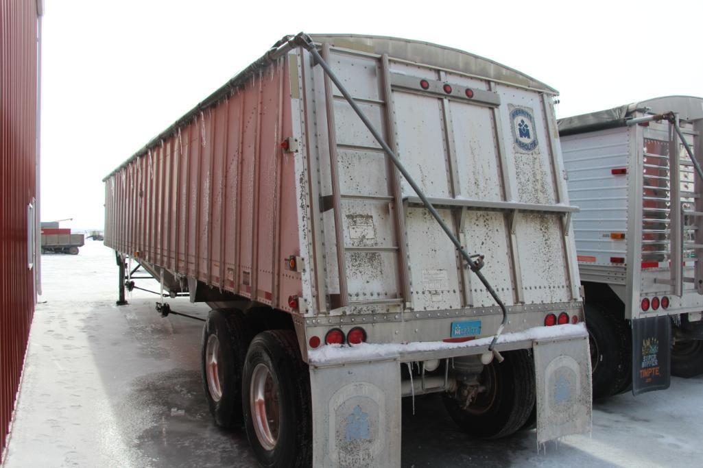 2003 Merritt 42' Hopper Bottom Grain Trailer