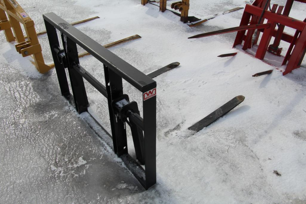 Westendorf 3-pt. Pallet Fork /bale Spear Attachment