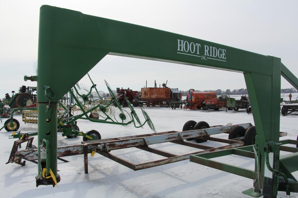Hoot Ridge 6 Place Bale Moving Goosneck Trailer