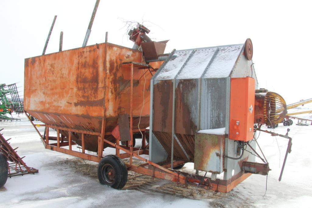 American Port-A-Bin Portable Grain Dryer W/Porta Bin