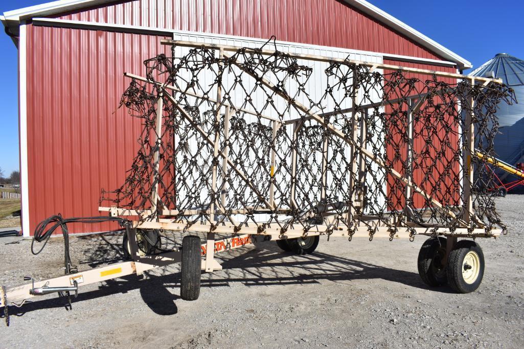 REM Delta Cart 42' Pasture Harrow