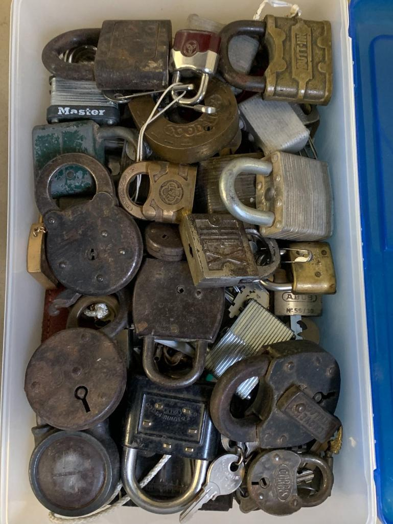 padlock-collection