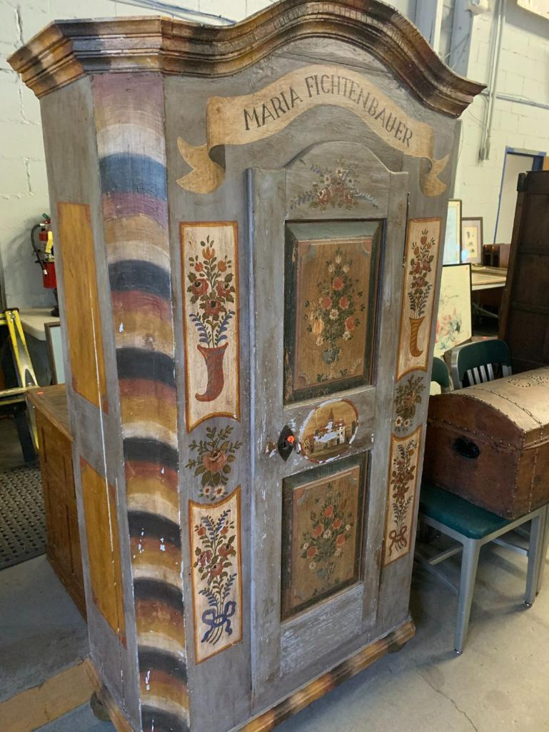 19th-century-austrian-painted-armoire