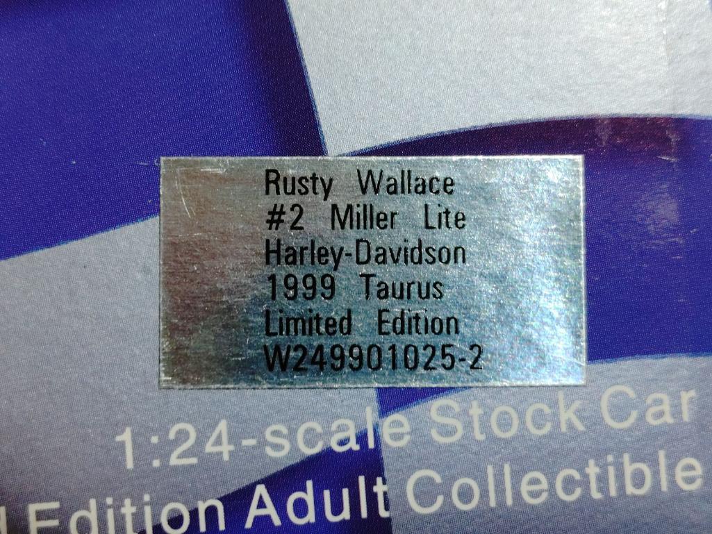 rusty-wallace-2-miller-lite-harley-davidson-1999-taurus-limited-edition