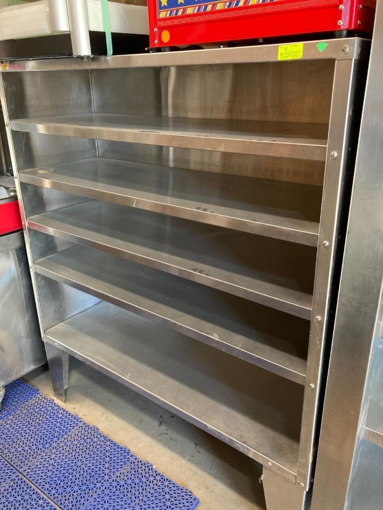 5-tier-stainless-steel-storage-unit
