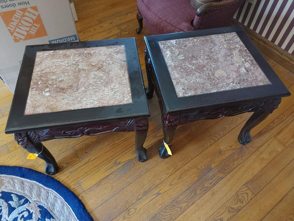 pair-of-carved-marble-inlay-tables