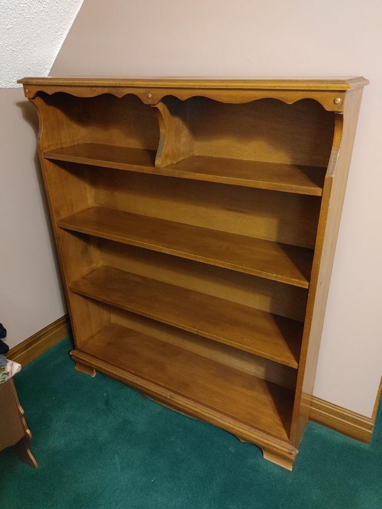 wood-bookcase