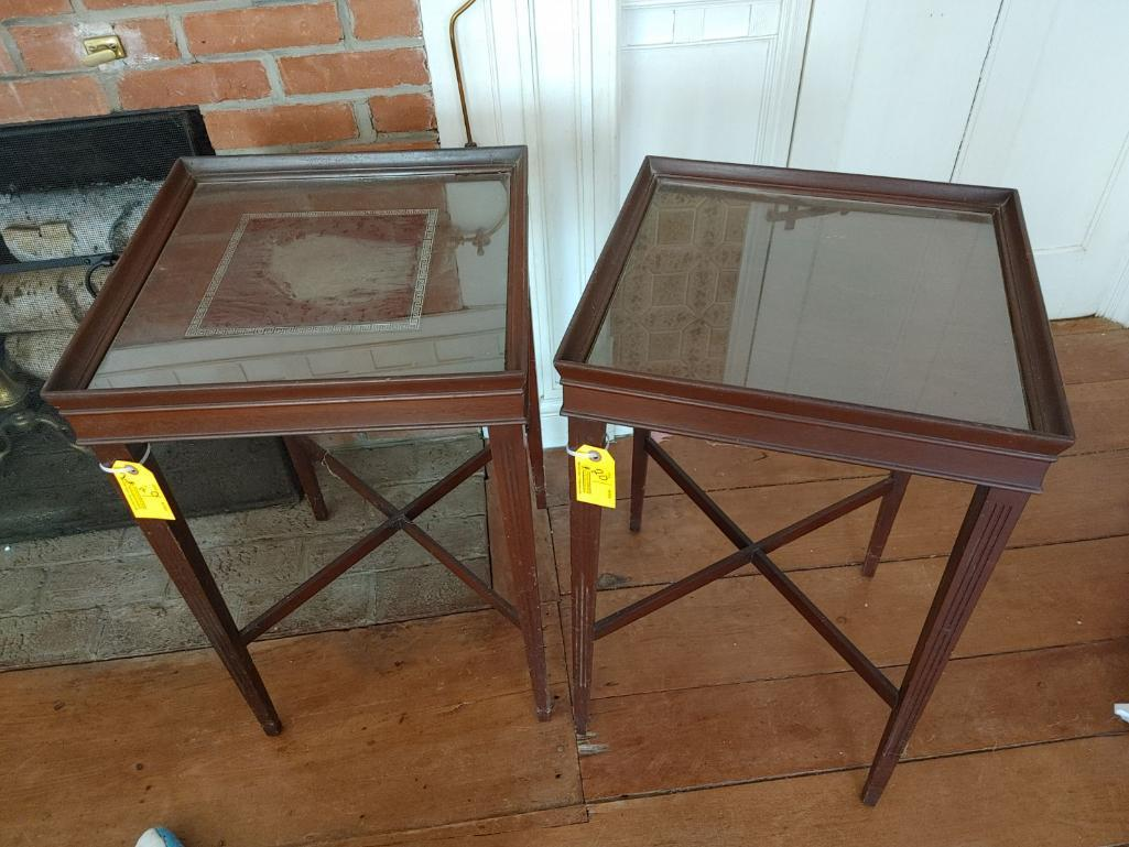 2-vintage-hardwood-end-tables