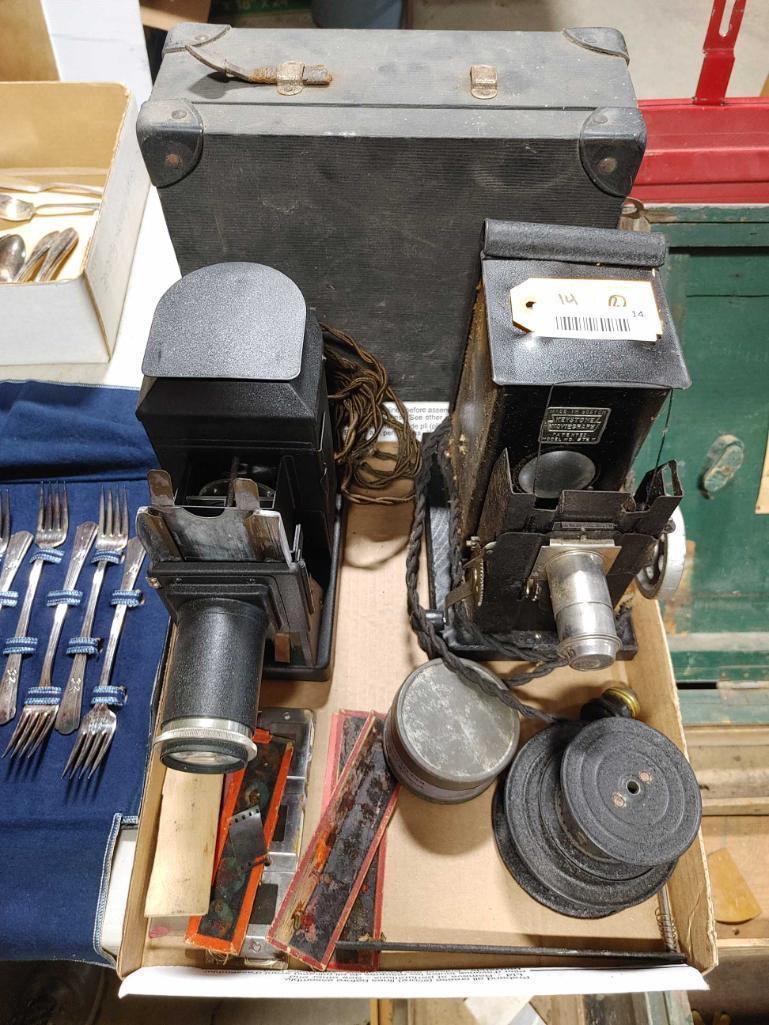 2-vintage-keystone-moviegraph-projectors