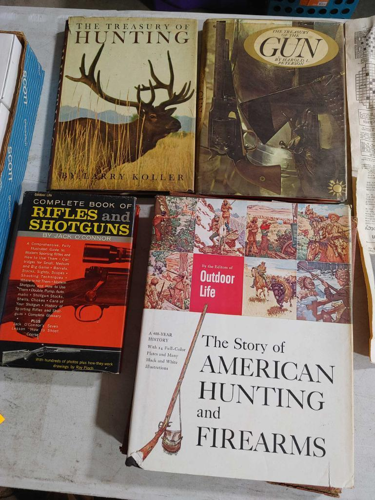 4-vintage-sporting-hunting-books