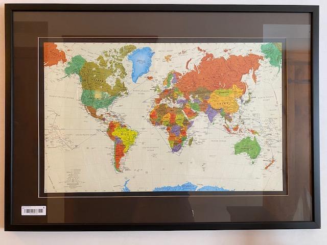 framed-map-of-the-world