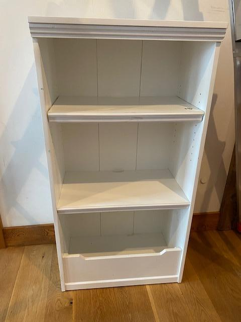 white-painted-wood-shelf-unit