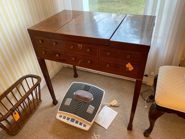 antique-continental-inlaid-mahogany-dressing-table