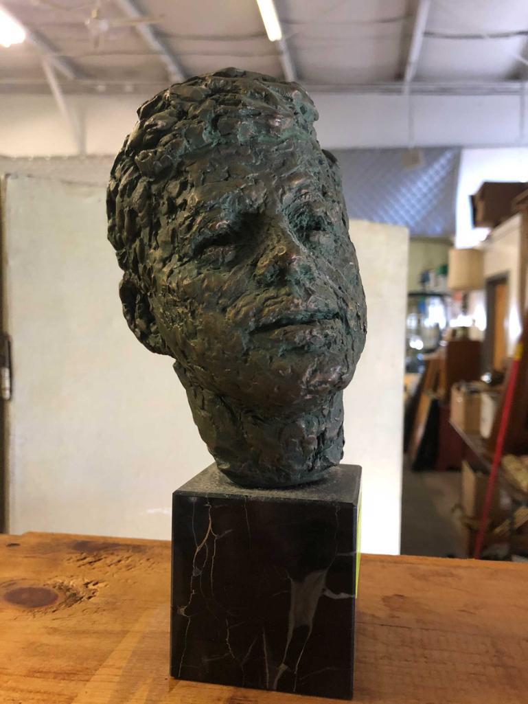 bronzed-jfk-bust