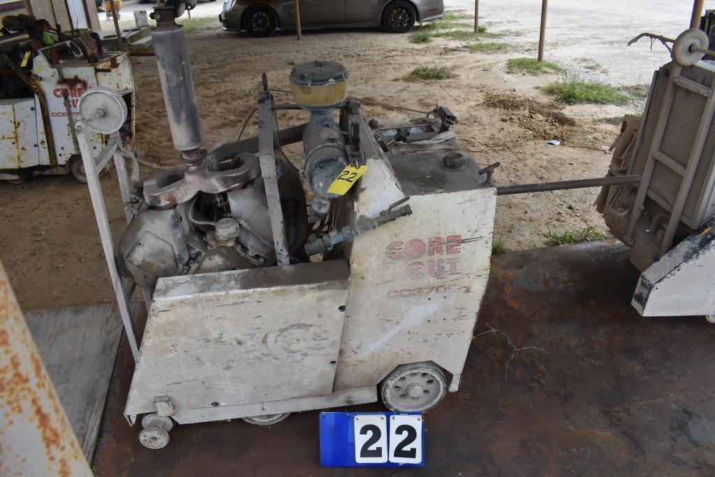 core-cut-concrete-saw-model-3700-needs-repairs