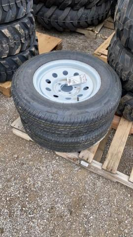2-new-st205-75-15-trailer-tires-wheels