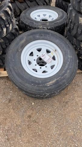 2-new-st235-80-16-trailer-tires-wheels