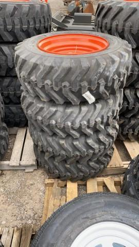 4-new-10-16-5-skid-steer-tires-on-rims