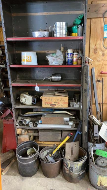 shelf-w-misc-scrap-metal