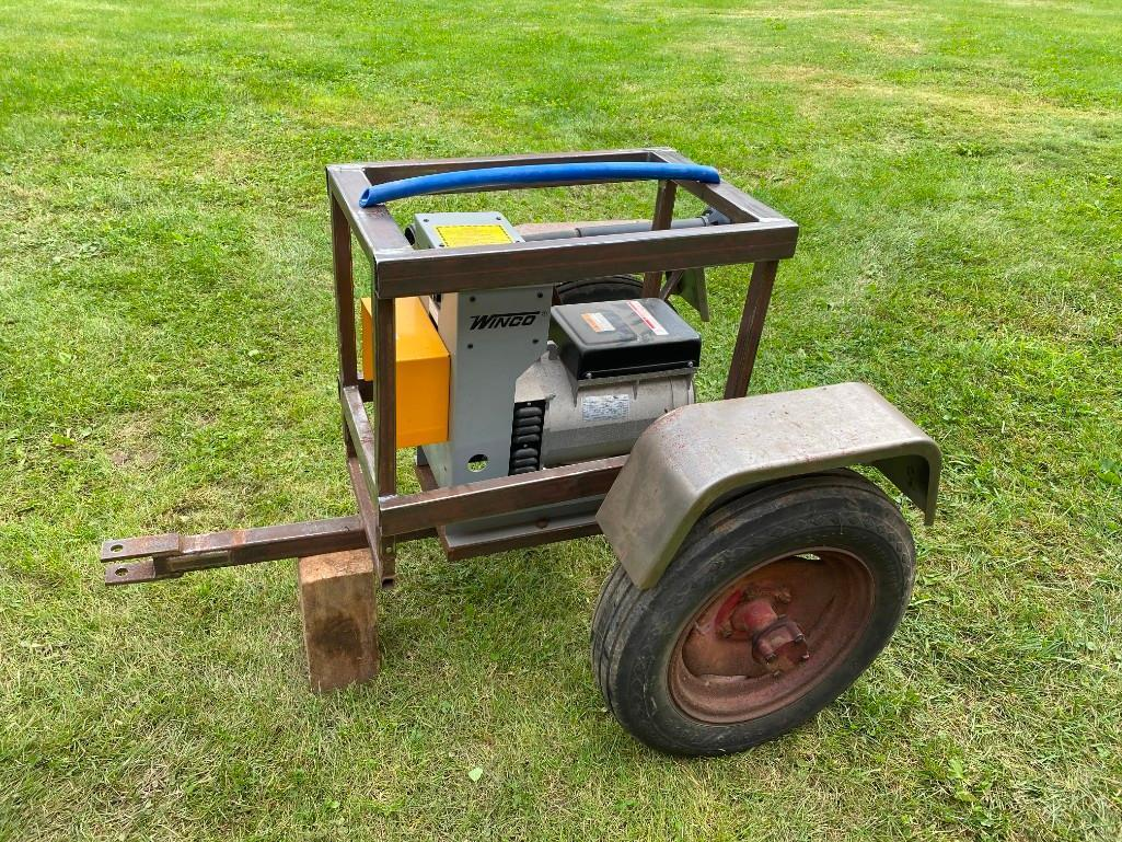 winco-15kw-pto-generator-on-cart-never-used