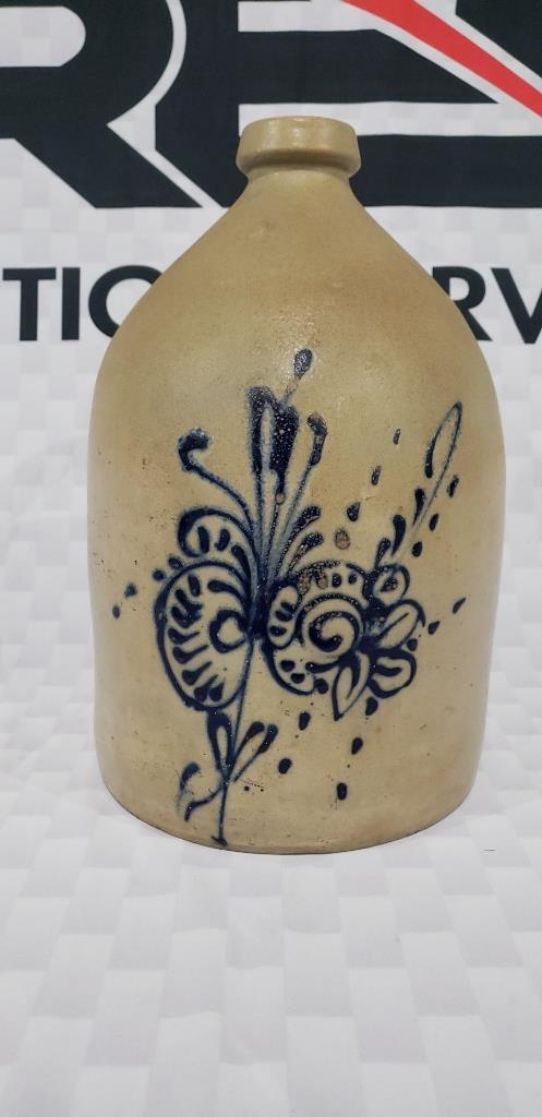 decorated-stoneware-jug
