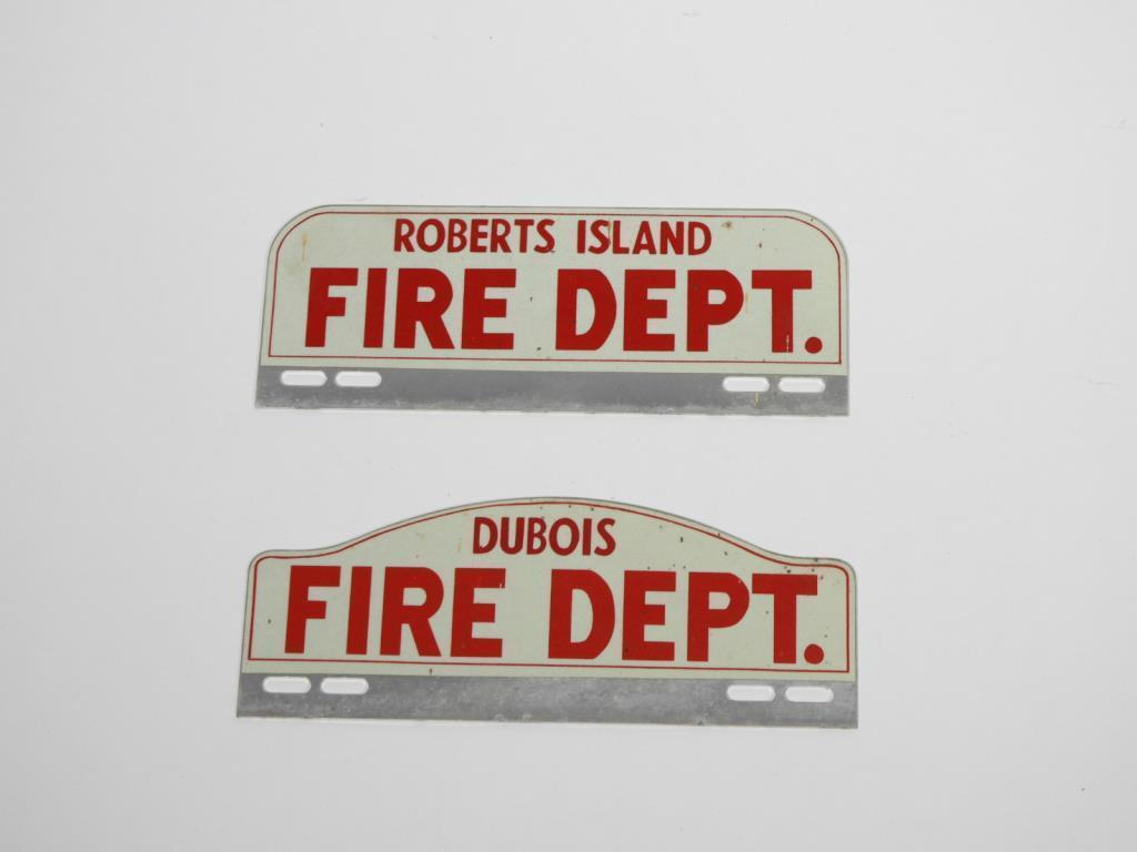 2-1940s-fire-department-license-pectin-signs