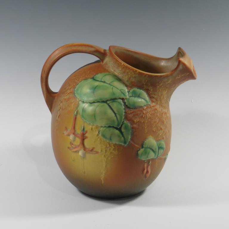 roseville-fuchsia-pitcher-excellent