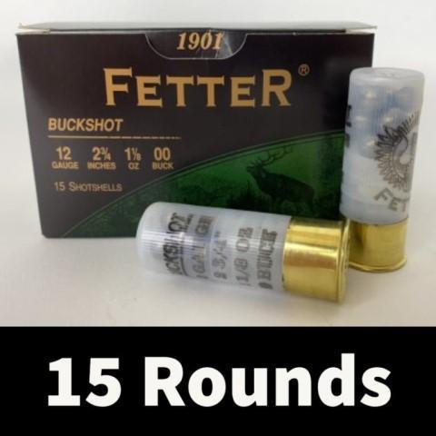 15rds-fetter-12ga-2-3-4-00-buck-shot