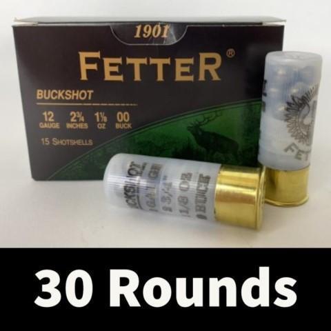 30rds-fetter-12ga-2-3-4-00-buck-shot