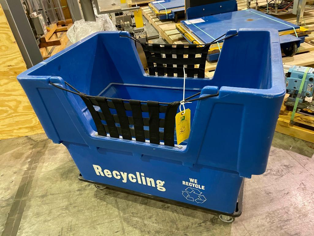 recycling-cart