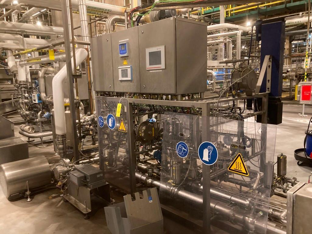 pet-line-hach-inline-carbonation-system-with-anton-parr-beer-system-module-mpds5