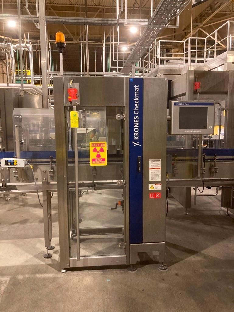 pet-line-krones-checkmat-label-detection-system-with-ejector-model-k731aid-230-vac-1ph
