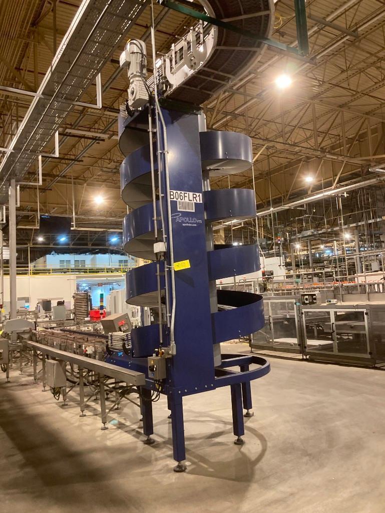 pet-line-apollo-spiral-case-conveyor-model-spc-1300-400-a3-4t-serial-561830-100