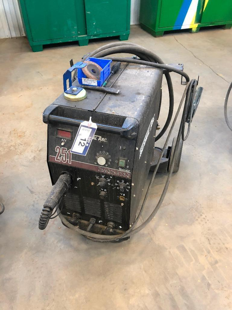 thermal-arc-fabricator-210-welding-system-w-cart
