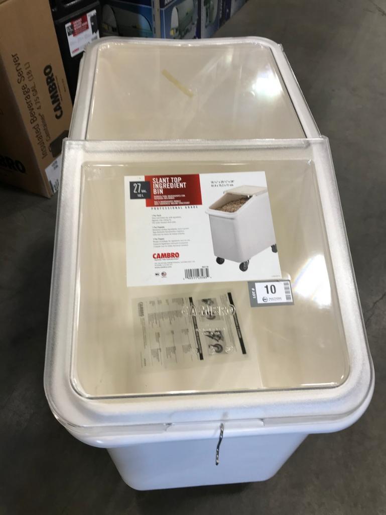 cambro-ibs27148-27-gallon-mobile-ingredient-storage-bin-new
