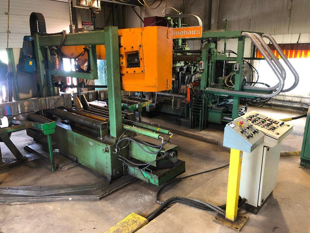 2000-peddinghaus-horizontal-dual-column-bandsaw-and-peddinghaus-tdk-1000-beam-drill-line