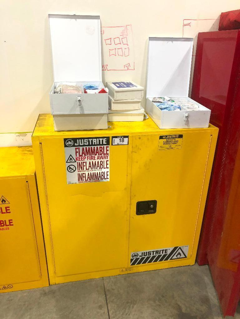 justrite-flammable-storage-cabinet