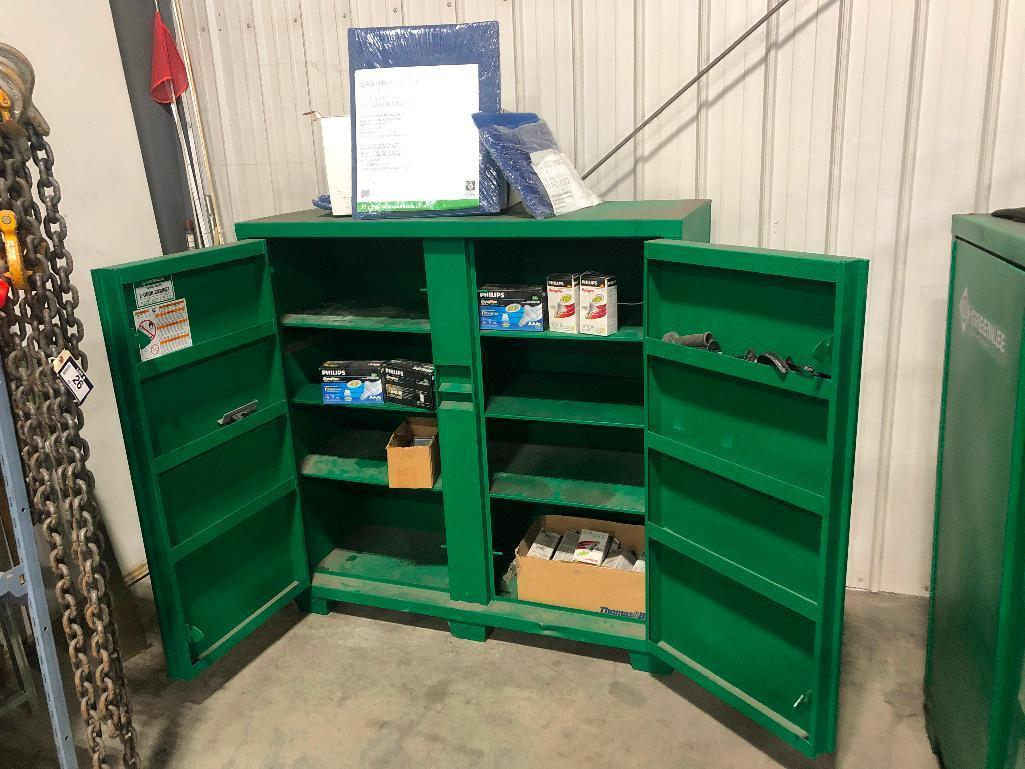 greenlee-2-door-cabinet-w-asst-contents-including-light-bulbs-air-filters-etc