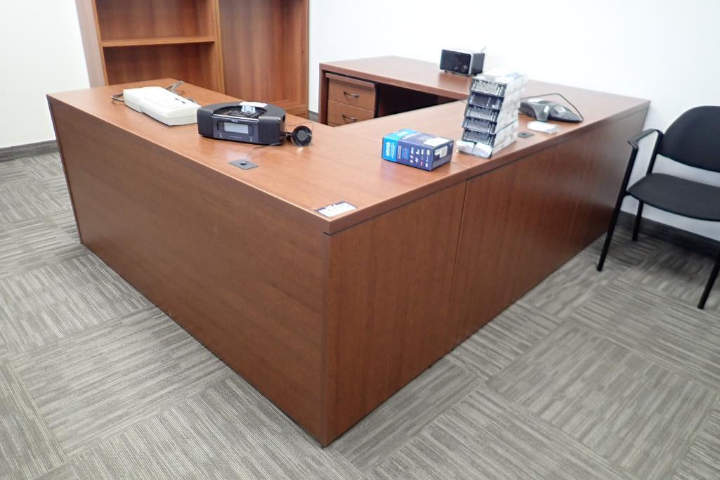 u-shaped-desk-w-2-drawer-lateral-file-cabinet-and-mobile-pedestal
