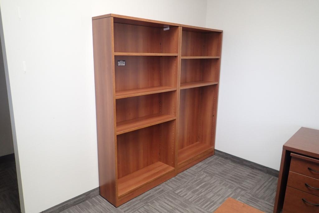 lot-of-2-5-shelf-bookcases