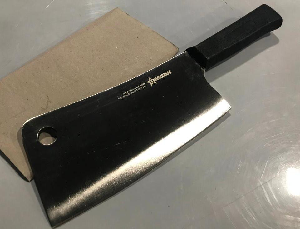 7-cleaver-w-black-poly-handle-omcan-10549-new